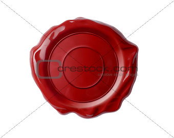 wax seal isolated