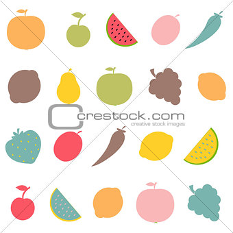 Abstract Fruits