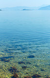 Clean water of Adriatic Sea (Croatia)
