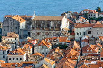 Dubrovnik Old Town view from up (Croatia)