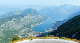 Kotor town on coast(Montenegro)