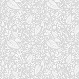 Silver floral pattern