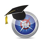 compass to education illustration