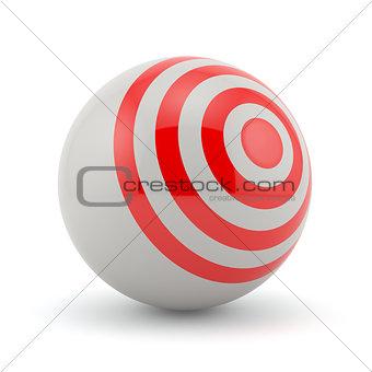 target sphere