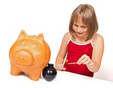 Exploding the piggy bank