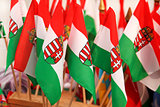 Hungarian flags
