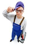 Awkward repairman