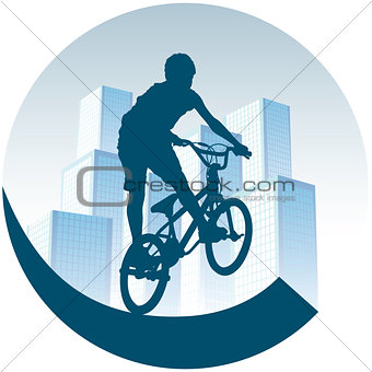Cycling in town