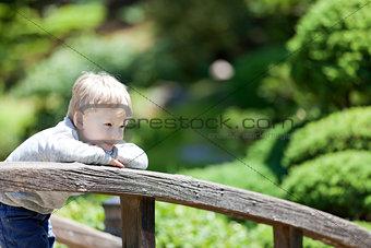 kid at the park