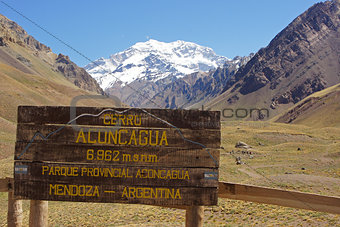 Andes Mountains, Argentina