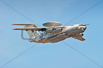 multi-plane A-50U airborne warning and control