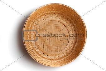 braiding small basket