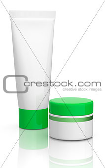 tube and jar