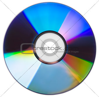 CD disk isolated