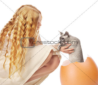 Cat Hatched From Egg