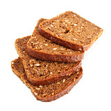 grain bread slices