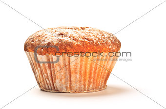 cake with sugar powder