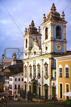 rosario dos pretos church in salvador of bahia