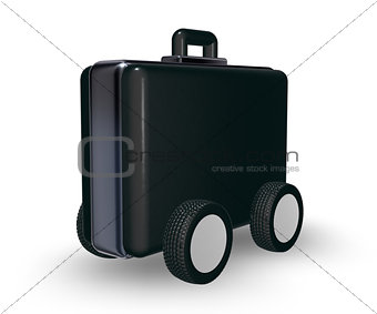case on wheels