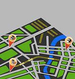 vector map