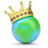 The crown on Earth