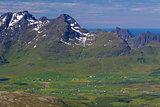 Mountains on Lofoten