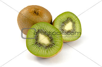 Kiwi ioslated on white background