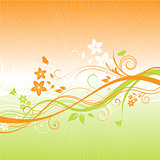 summer floral background 1305