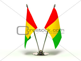 Miniature Flag of Guinea
