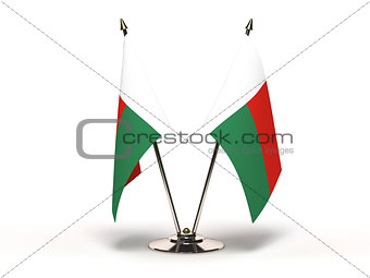 Miniature Flag of Madagascar