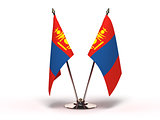 Miniature Flag of Mongolia