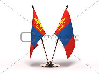 Miniature Flag of Mongolia