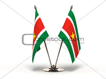 Miniature Flag of Suriname
