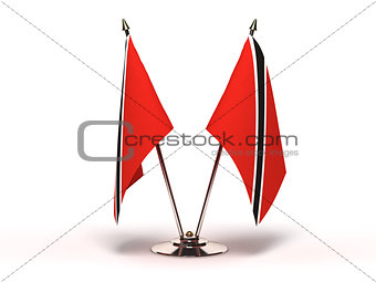 Miniature Flag of Trinidad and Tobago