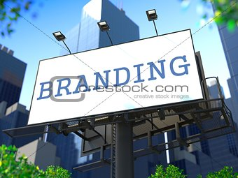 Brand Concept on Billboard.