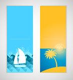 Summer banners.