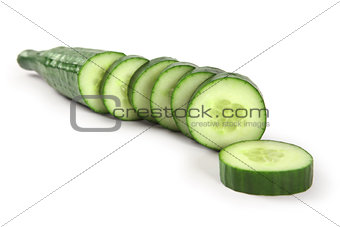 Cucumber sliced