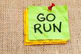 go run reminder