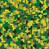 Vector texture - green summer camouflage