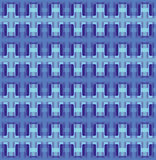 Vector seamless interwoven texture