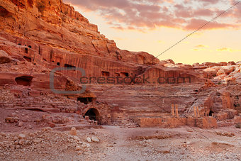 Amphitheater in Petra