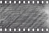 Old grunge filmstrip