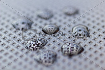 Abstract Waterdrops Closeup Background