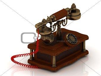 Old decorative telephone
