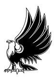 Majestic eagle mascot