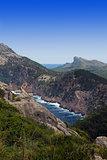 beautiful mountain view in Mallorca balearic islands