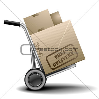 free delivery handtruck