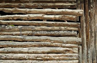 Old dark planks