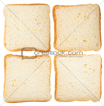 Collection of bread slices