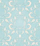 Seamless wallpaper pattern in baroque style.